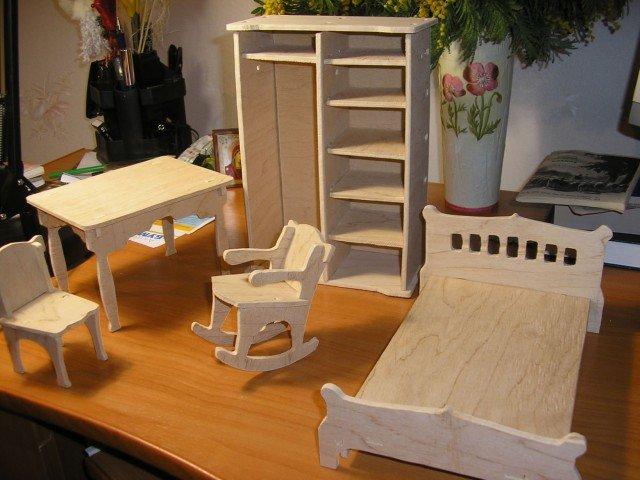 Игрушка мебель из фанеры своими руками 83