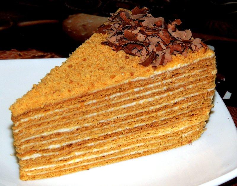 Торт медовый с фото рецепт