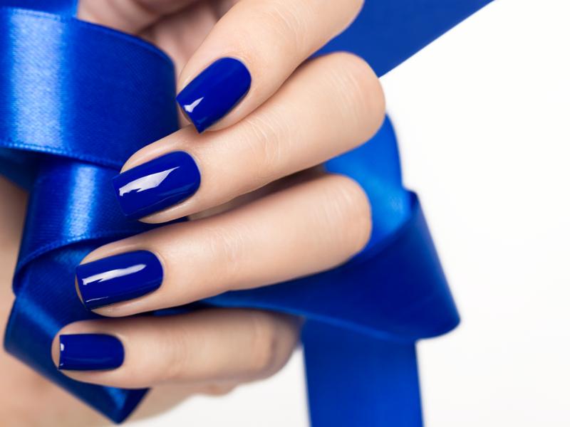 Синие ногти признак чего