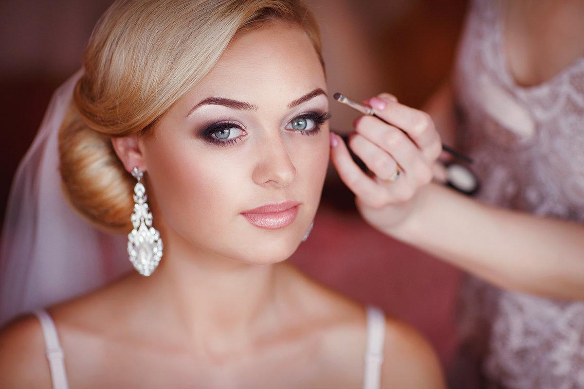 Свадебный рисунок в макияже