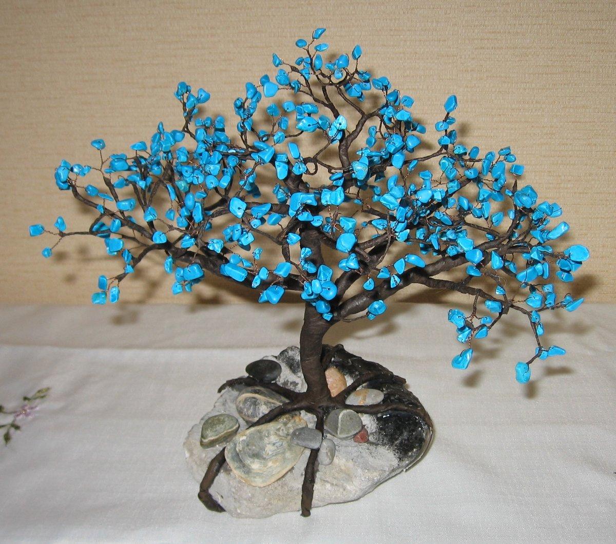 Деревья из бисера I Мастер-класс: плетение деревьев из бисера