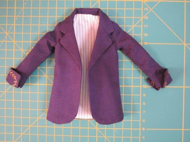 Простой пиджак своими руками 508