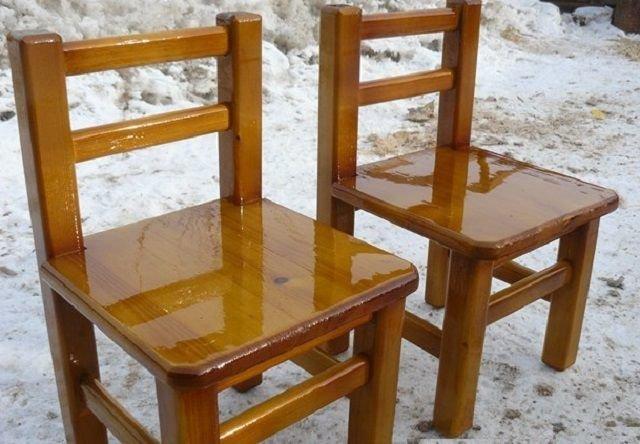 Фото стул из дерева своими руками