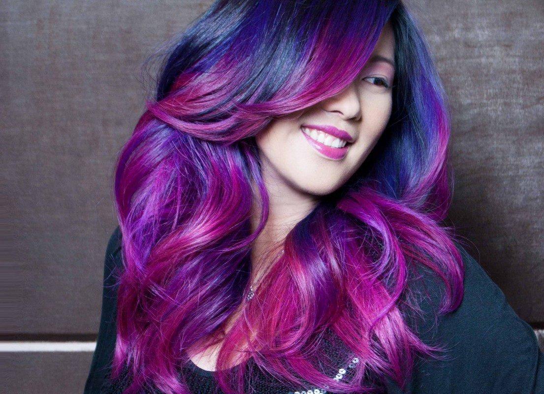 Краска для создания омбре на волосах