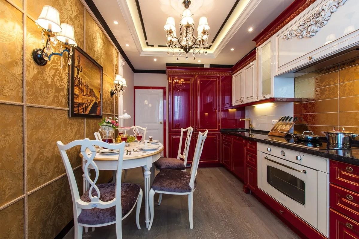 Интерьер дизайн ремонт кухни