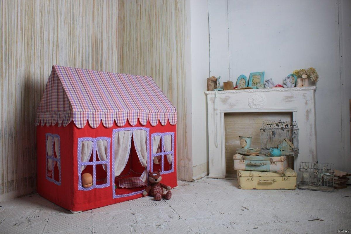 Как сделать домик ребенку самому 519