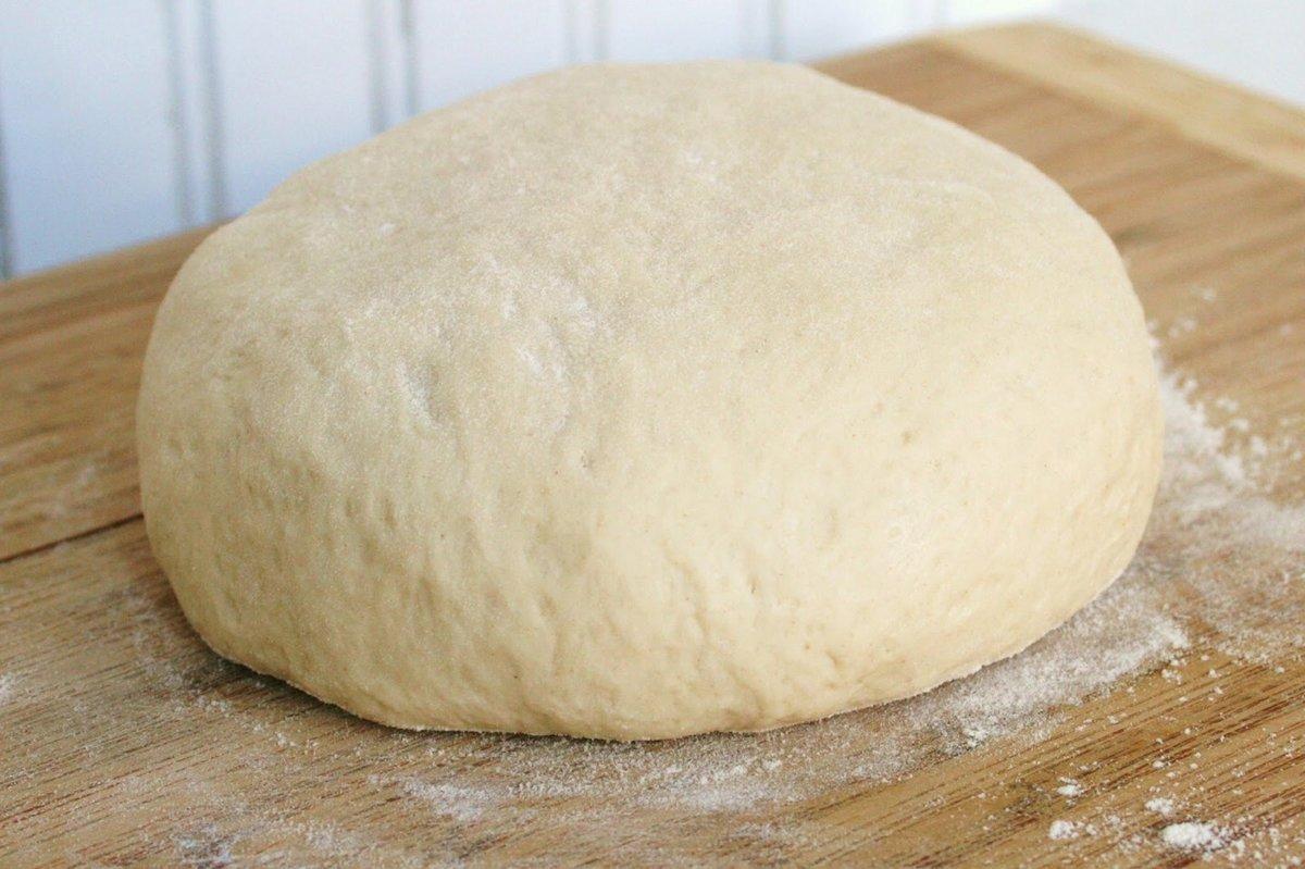 Жидкое тесто для пиццы на кефире быстрого приготовления без
