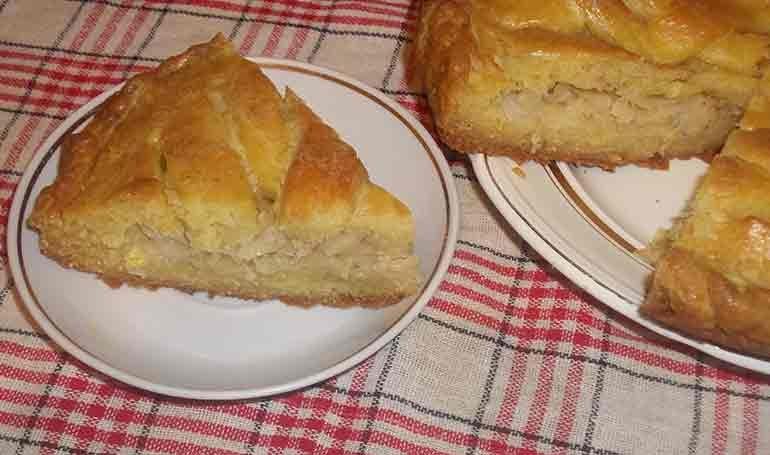 Капустный пирог постный рецепт с
