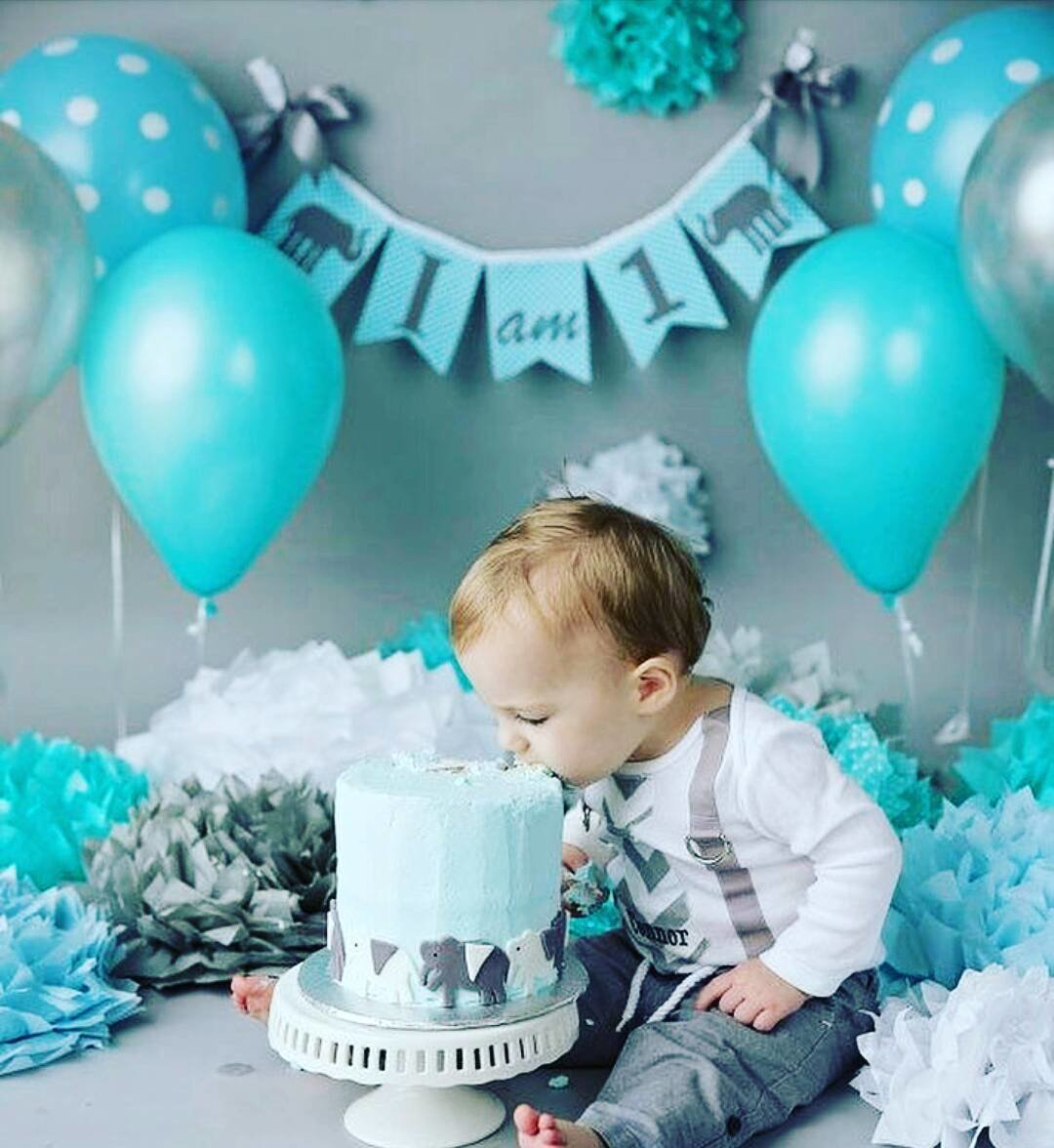 Оформление дня рождения 1 годик мальчику своими руками