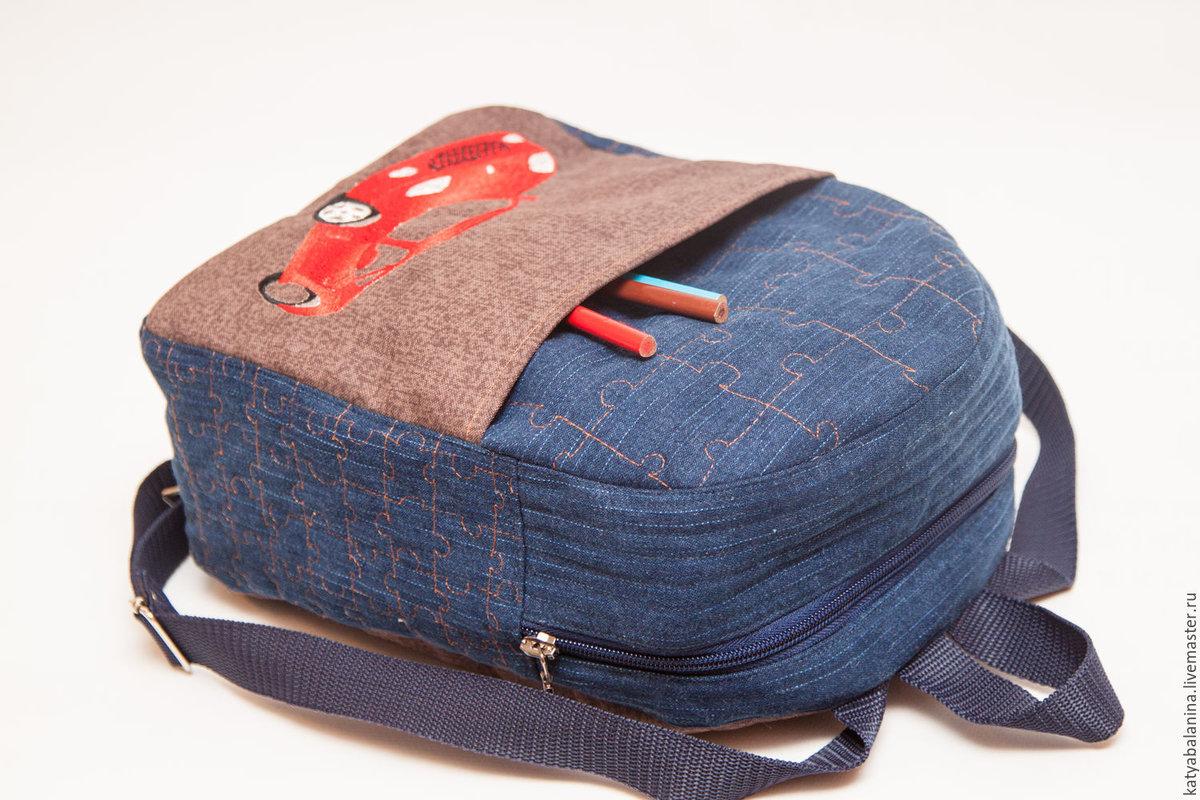 Сшить рюкзак из джинсов своими 102