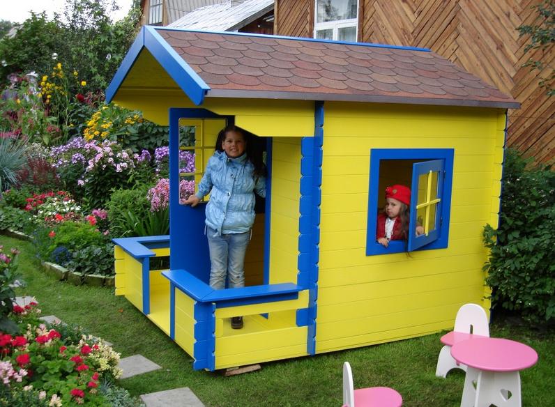 Как построить домик для девочки своими руками 93
