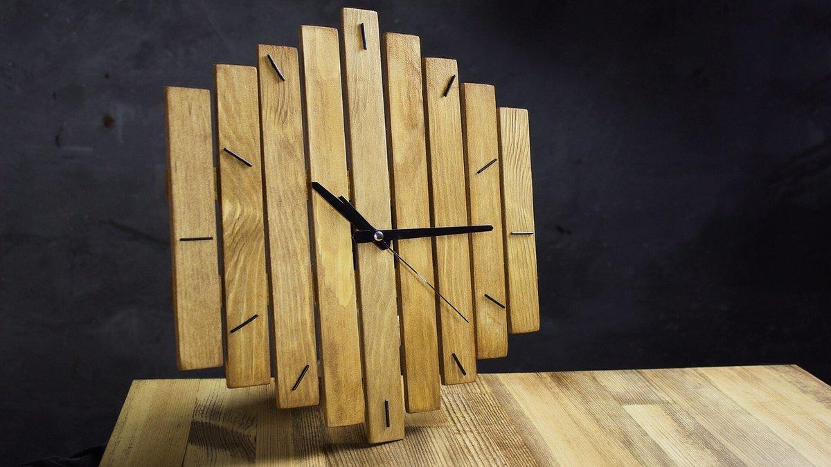 Часы из дерева сделать 105