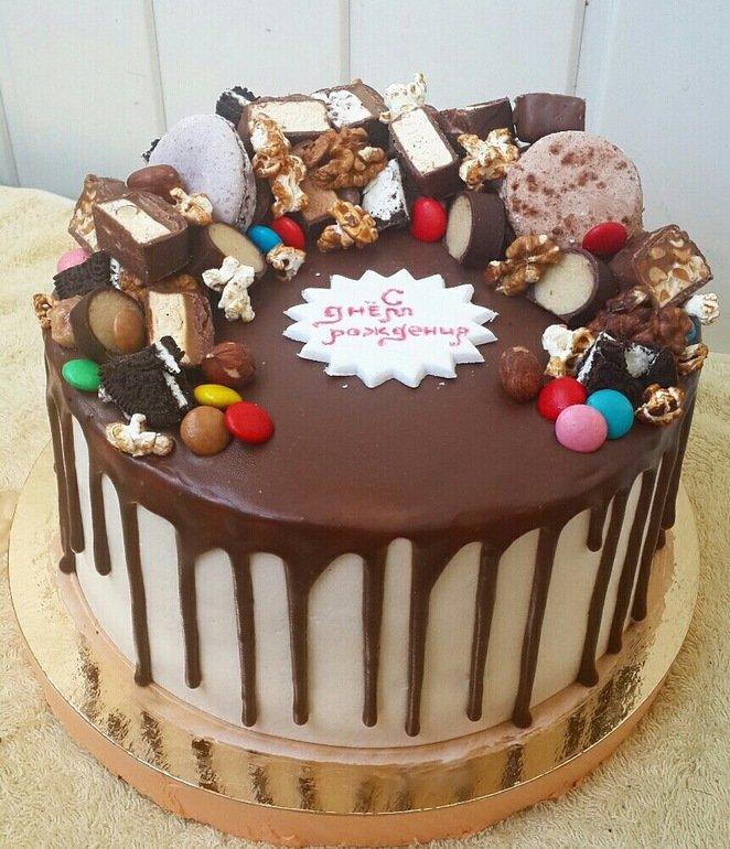 Шоколадный торт своими руками в домашних условиях фото 65