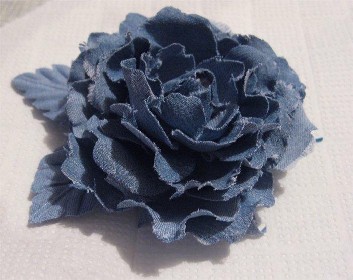Розы из джинсовой ткани своими руками 67