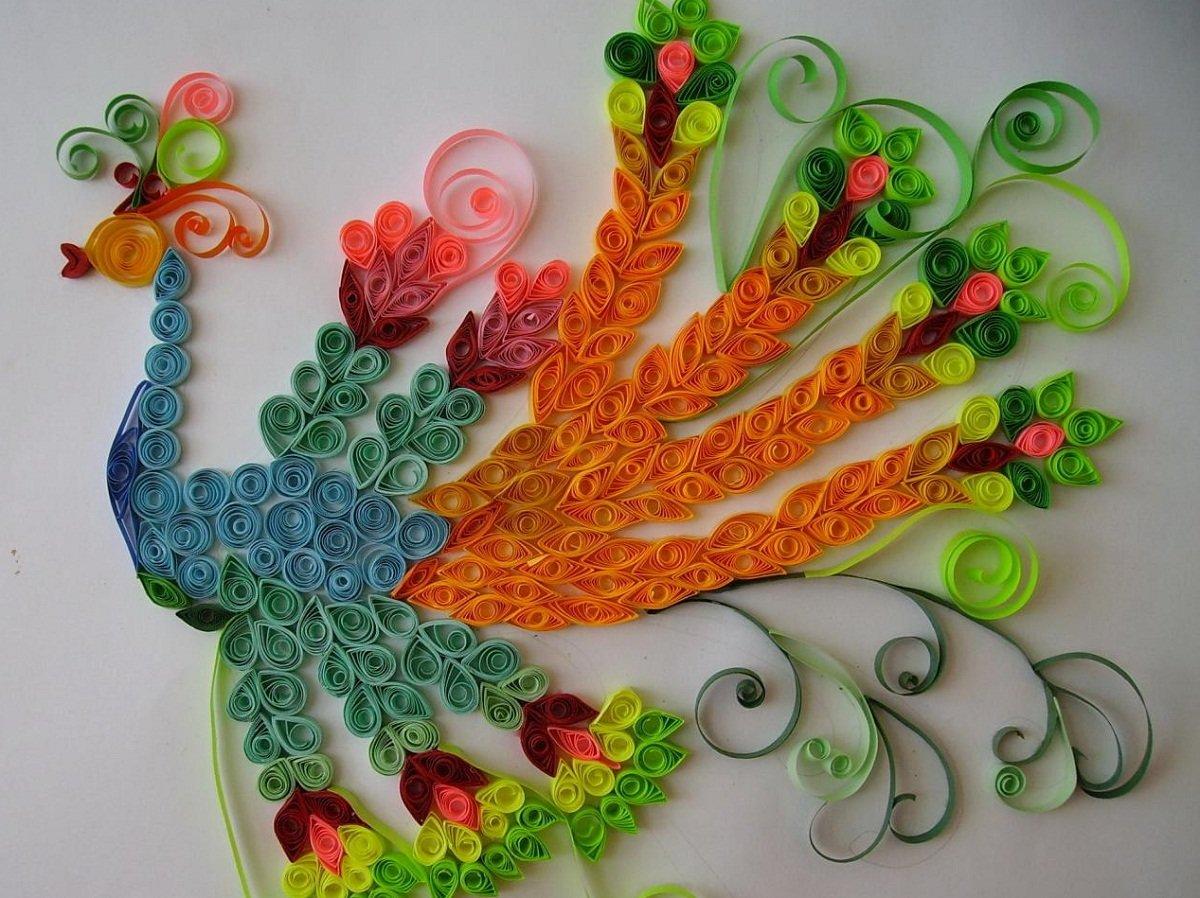 Поделки - птицы своими руками из разных материалов. Мастер 55