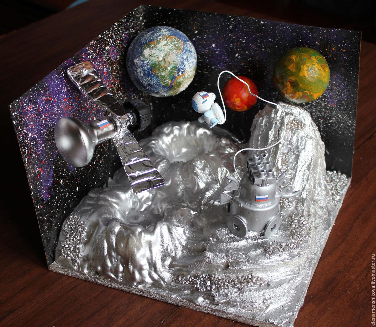 Поделки в сад на тему космос 17