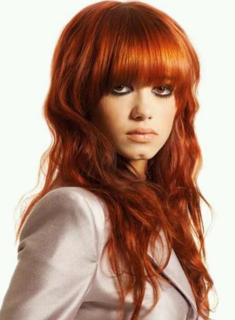 Кому идет медно-красный цвет волос