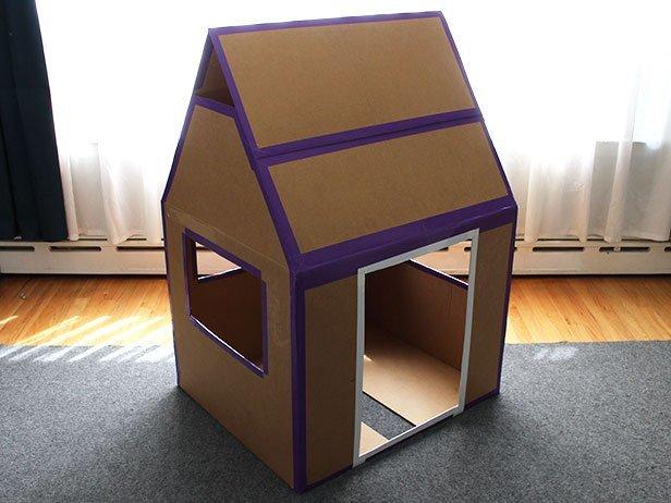 217Как сделать домик для своими руками из подручных материалов