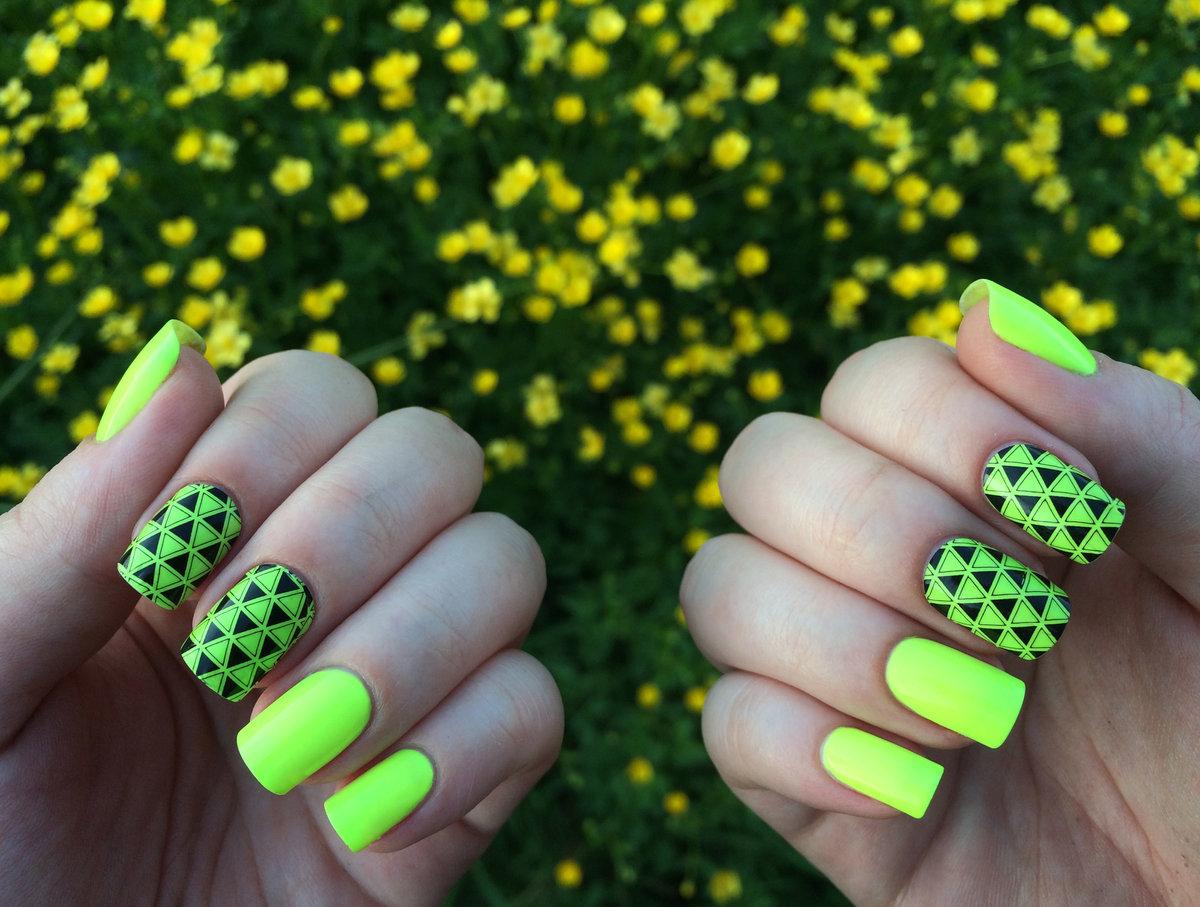 Гель-лак фото ногтей с рисунками лето яркие