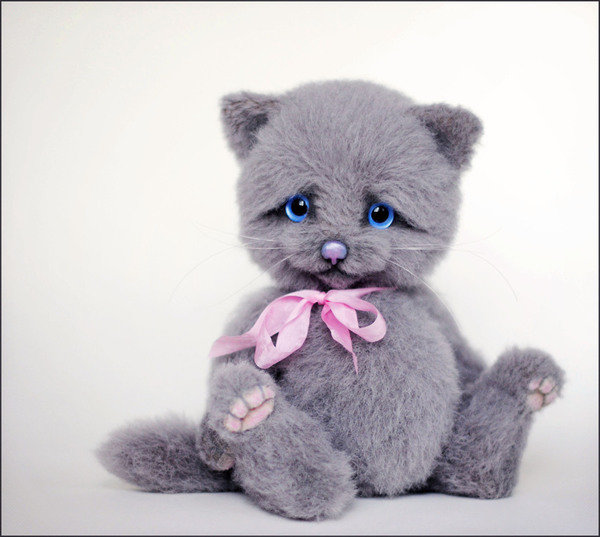Британские котята игрушки своими руками 49