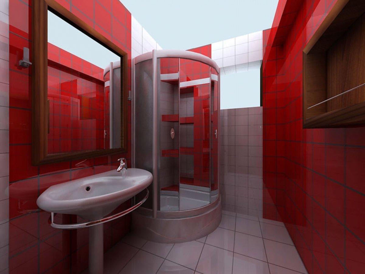 Дизайн маленьких ванных комнат с кабинкой