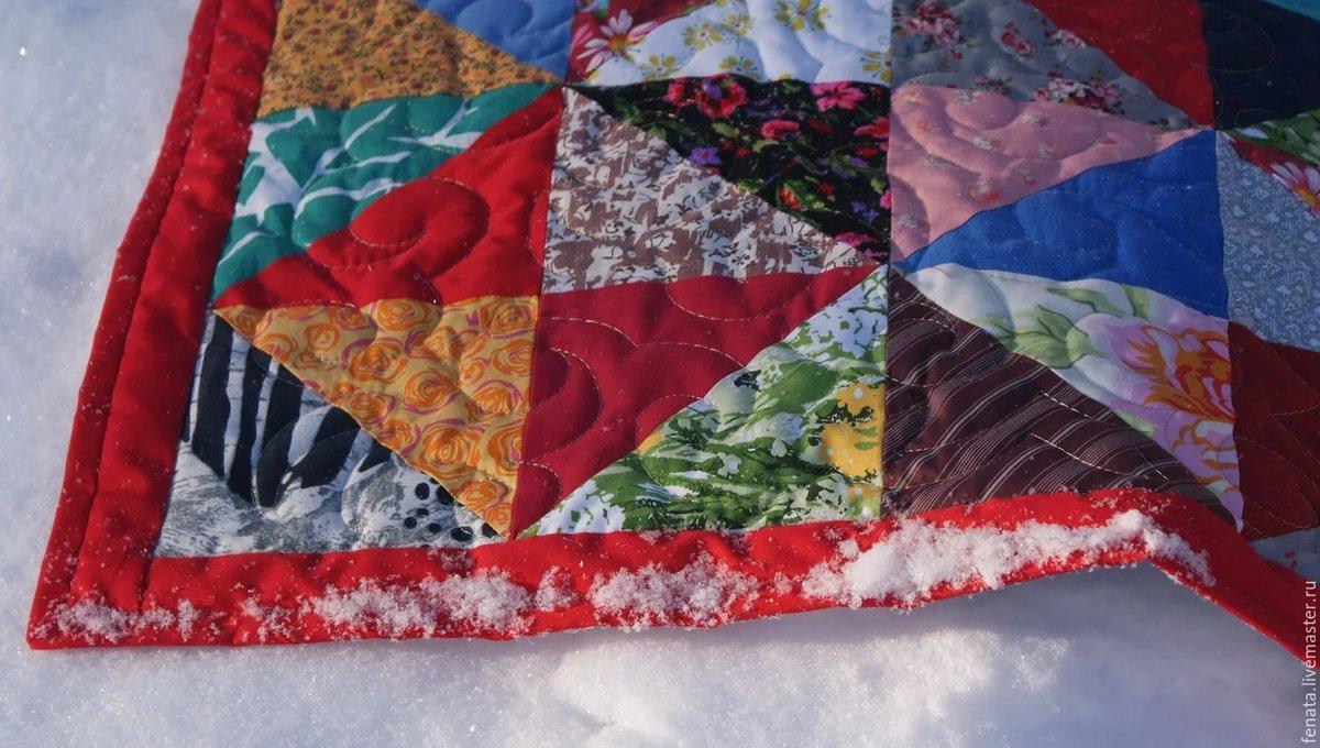 Лоскутное шитье одеяло своими руками 21