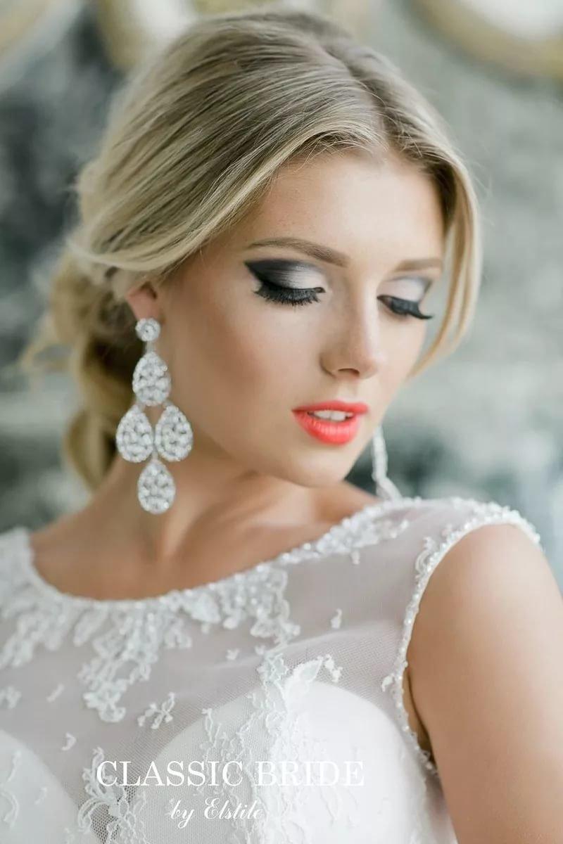 Классический макияж невесты