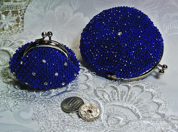 Вязание бисером кошелек с фермуаром 31