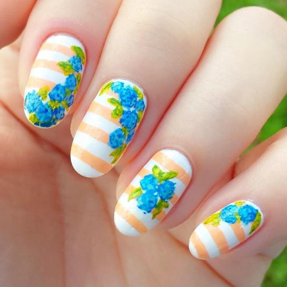 Очень красивый дизайн ногтей-163 фото -Фото дизайна ногтей 33
