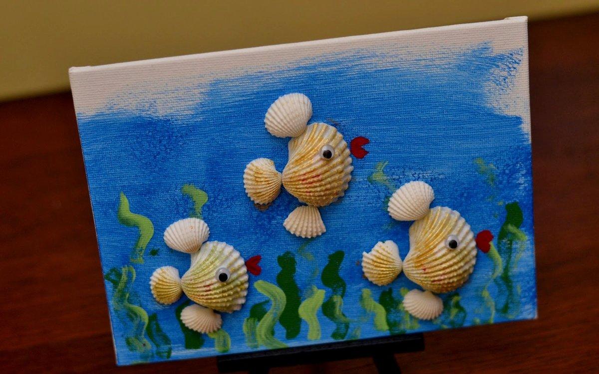 Поделки из морских ракушек своими руками мастер класс фото 9
