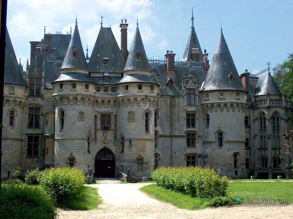 Chateau de Vizille, Isere, France  № 156893  скачать