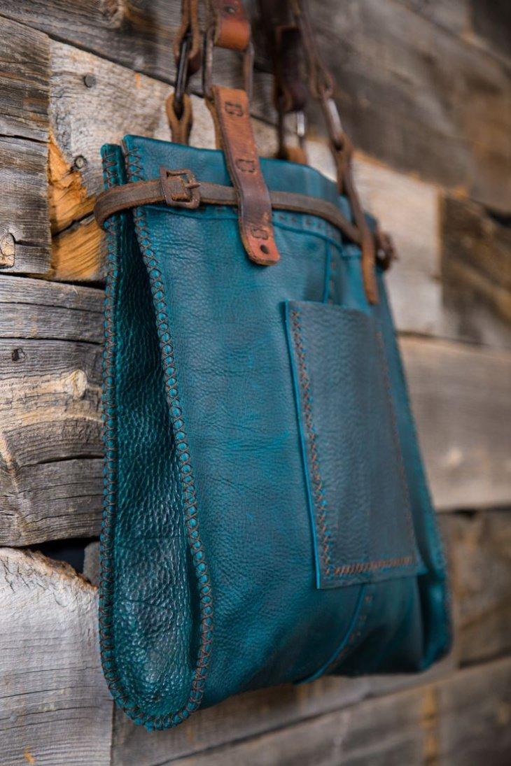 Идеи для сумок своими руками из кожи