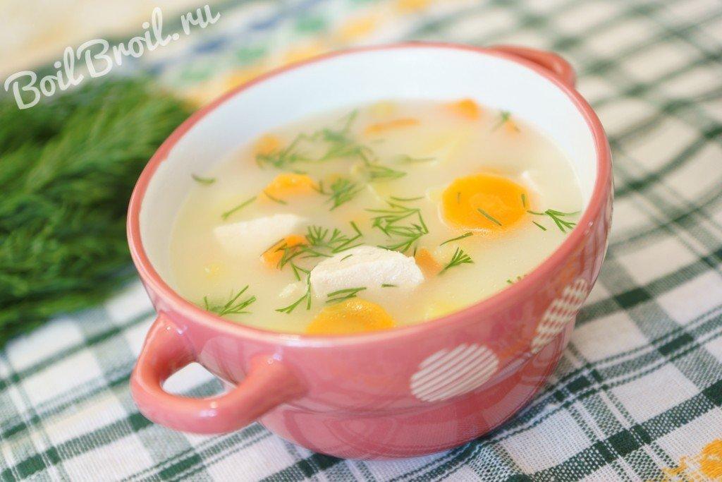 Приготовить сырный суп с пошаговым