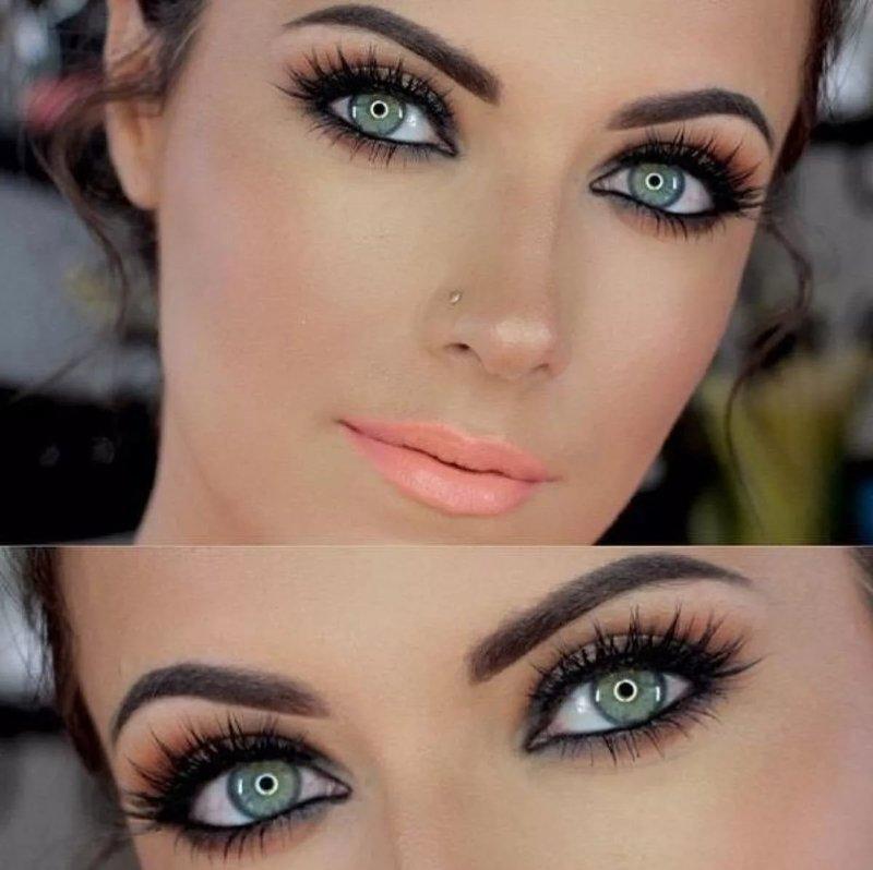 Красивые глаза и макияж
