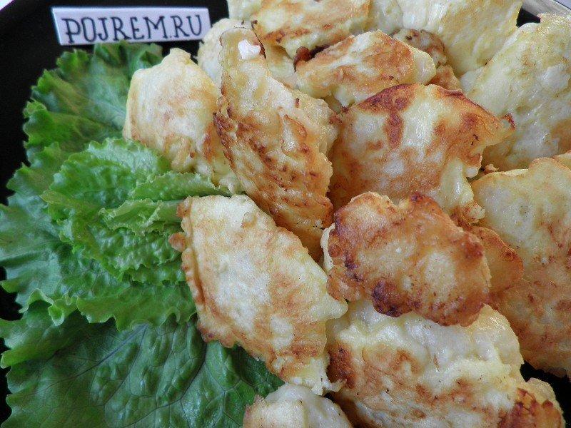 Цветная капуста в кляре с сыром пошаговый рецепт с фото