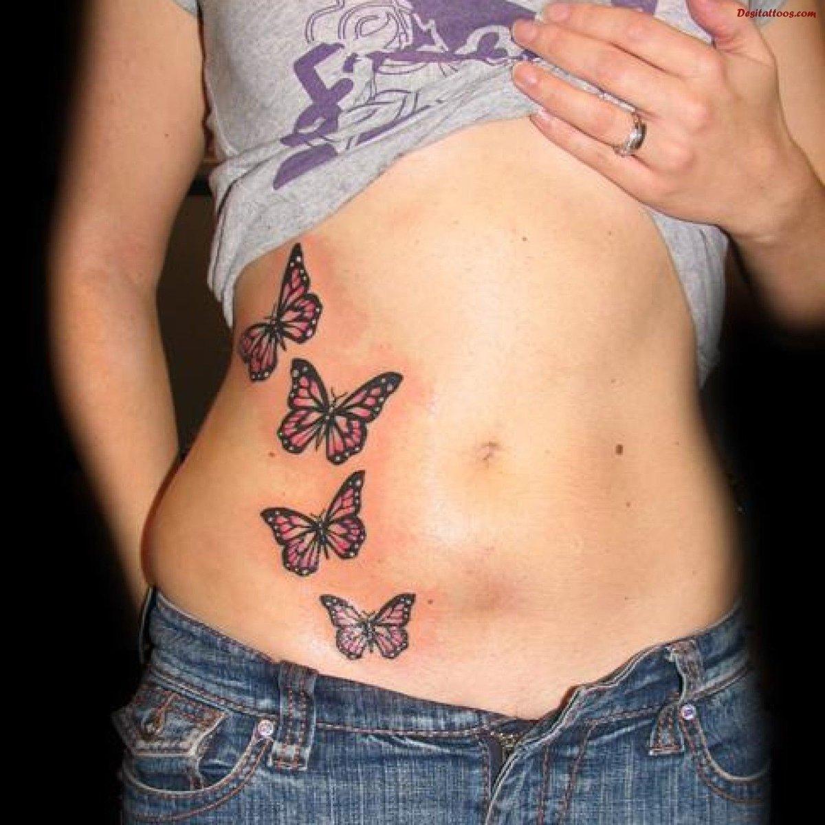 Фото татуировок ангелы для девушек