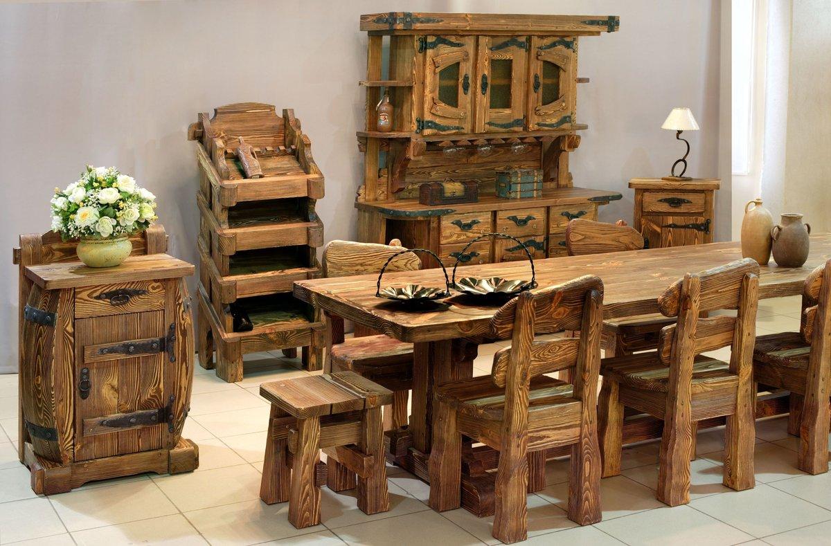 Этапы изготовления мебели из массива своими руками