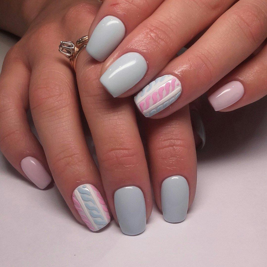 Милые нежные ногти фото