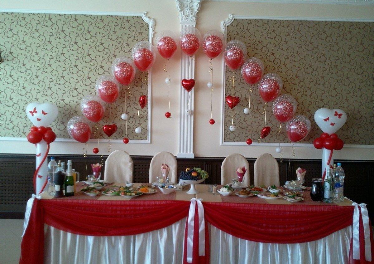 Как украсить зал на шарами своими руками 642
