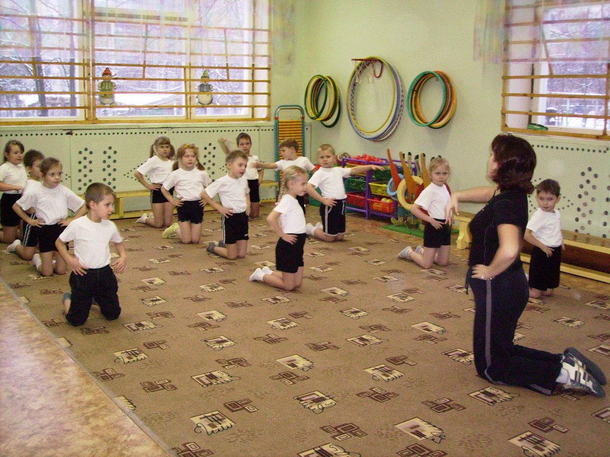 Фото с зарядкой у детей