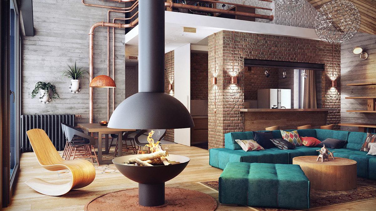 Стильный интерьер квартиры фото 2018