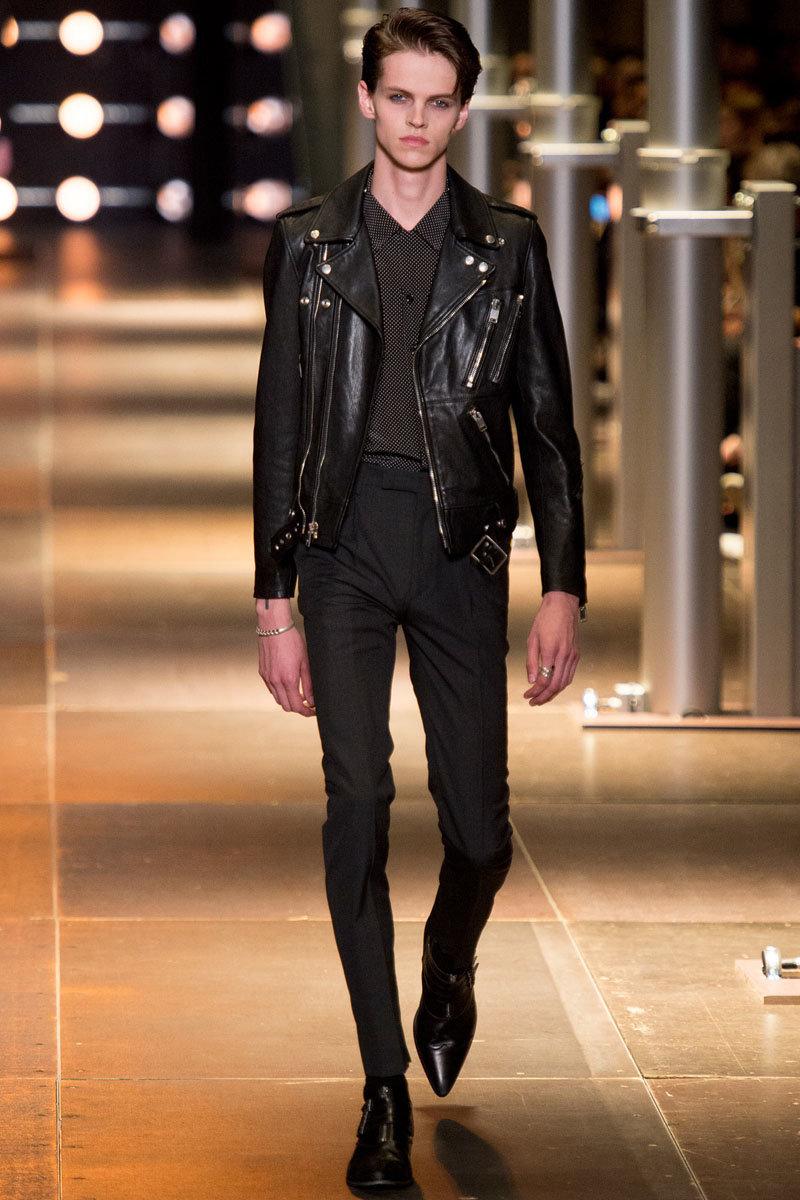 Skinny high fashion male models
