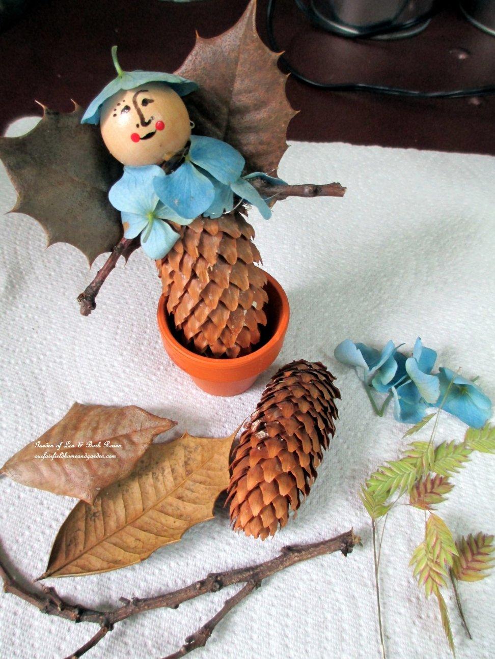Простые поделки из природного материала на тему осень своими руками 47