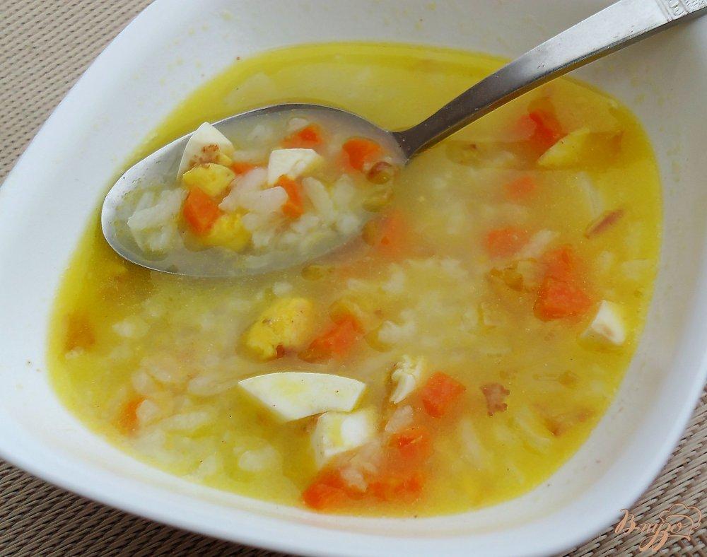 Суп без мяса рецепты с яйцом