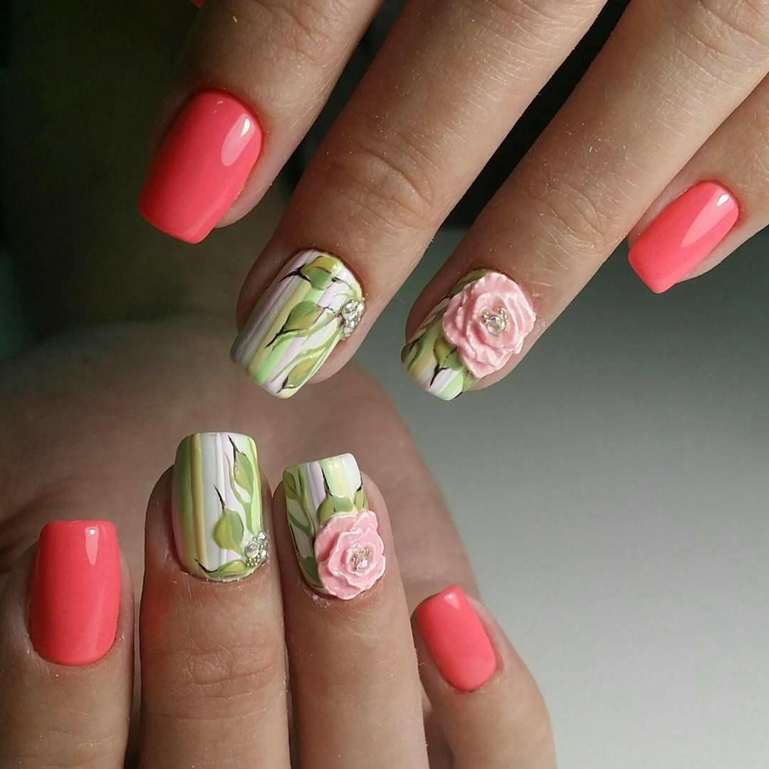 Дизайн ногтей летний фото новинки