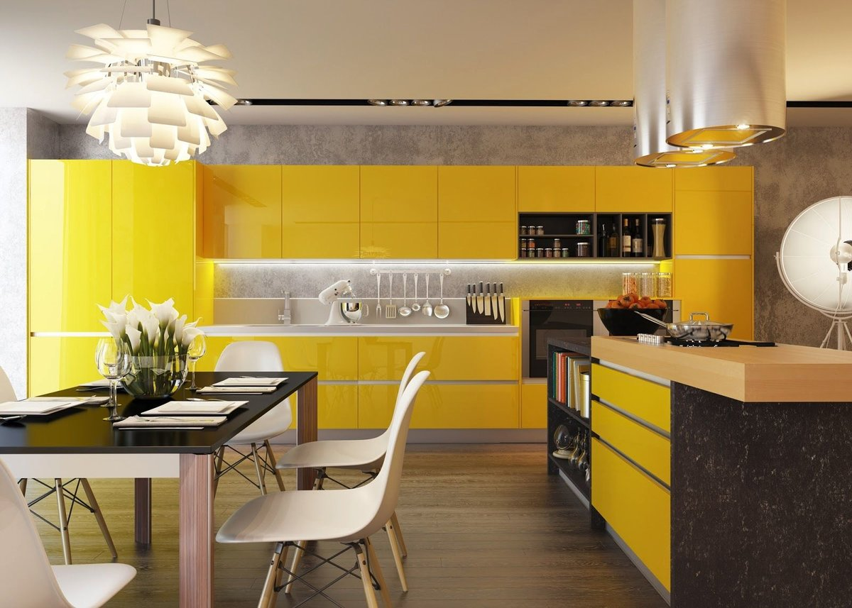 Дизайн кухни своими руками 2018 современные идеи
