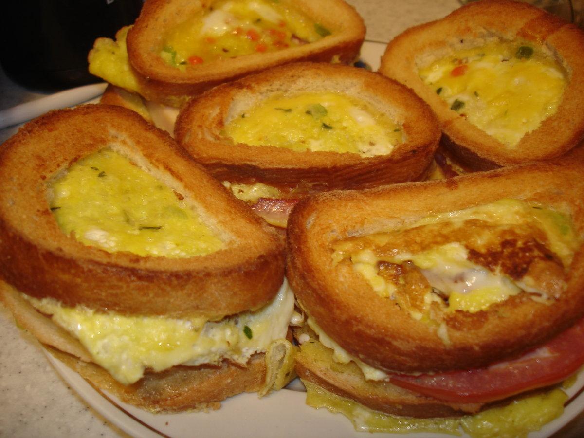 Бутерброды рецепты с пошаговым фото