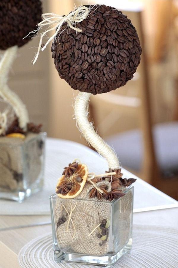 Кофейное дерево своими руками фото пошагово