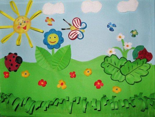 Детские рисунки про лето своими руками 100