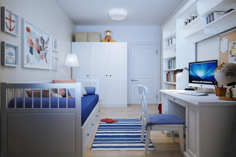 Икеа дизайны спальни девочки 56